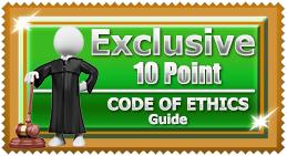 Code Of Ethics White Man